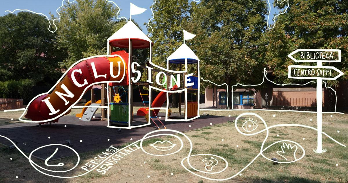 be96877bfd Parco giochi sensoriale. Percorsi ludici e percettivi al giardino Lorusso